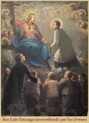 Patrono de los Jovenes San Luis Gonzaga